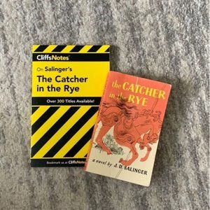 The Catcher & The Rye by JD Salinger & Cliff Notes